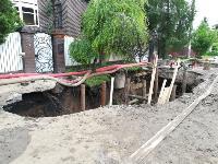 Очередной провал дороги в Мясново, Фото: 10