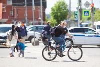 Полицейский рейд в тульских маршрутках: на пассажиров без масок составляют протоколы, Фото: 28