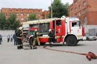 Тульские пожарные обучили таможню  бороться с огнём, Фото: 1