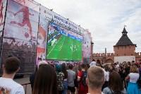 Футбол на большом экране в Тульском кремле, Фото: 69