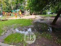 Дворы на Красноармейском проспекте затопило нечистотами, Фото: 27