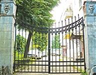Тула, пр. Каминского, 47-а. Ворота с львиным характером., Фото: 3