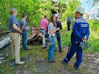 В Пролетарском районе Тулы ликвидируют разлив мазута, Фото: 9