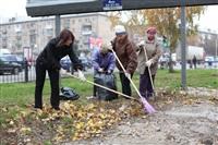 Тульские жилищники вышли на субботник, Фото: 17
