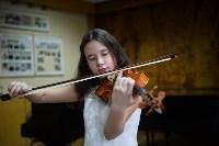 Юная скрипачка Екатерина Щадилова, Фото: 3