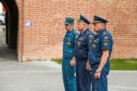 Учения МЧС в Тульском кремле, Фото: 6