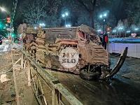 Двойное ДТП на проспекте Ленина в Туле, Фото: 1