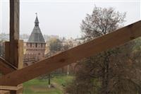 16 октября Владимир Груздев проконтролировал ход работ в Тульском кремле., Фото: 13