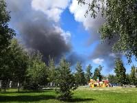 В Алексине произошел крупный пожар, Фото: 3