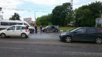 В Туле на пересечении ул. Ген. Маргелова и проспекта Ленина произошло тройное ДТП, Фото: 7