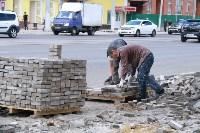 На ул. Советской меняют тротуарную плитку, Фото: 9