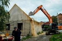 В Плеханово убирают незаконные строения, Фото: 66