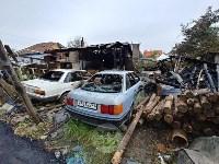Пожар и обыск на ул. Судейского, Фото: 9