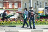 Первый день масочного режима в Туле, Фото: 4