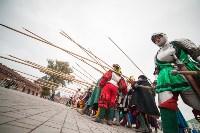 Средневековые маневры в Тульском кремле. 24 октября 2015, Фото: 167