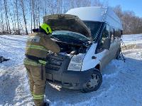 В Тульской области в ДТП с автобусом и маршруткой пострадали несколько человек, Фото: 2