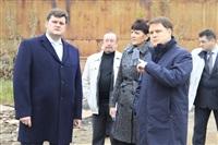 16 октября Владимир Груздев проконтролировал ход работ по благоустройству набережной, Фото: 7