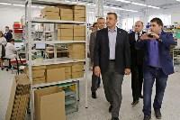 В Богородицке Алексей Дюмин посетил ООО «Завод №423», Фото: 2