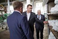 Алексей Дюмин посетил Ефремовский завод синтетического каучука, Фото: 1