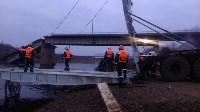 Монтаж моста в Архангельской области, Фото: 20