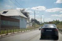 Пожар в гаражном кооперативе №17, Фото: 1