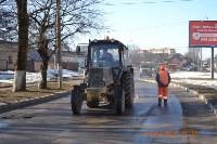Ремонт дорог в Туле. 11 марта 2016 года, Фото: 1