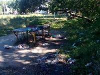 Распивочно теннисный стол ныне им заделан проход в школу, Фото: 2