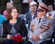 Открытие монумента и бронепоезда на Московском вокзале. 8 мая 2015 года, Фото: 9