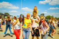 В Туле прошел фестиваль красок и летнего настроения, Фото: 133