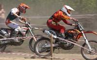 Юные мотоциклисты соревновались в мотокроссе в Новомосковске, Фото: 67