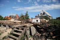 Демонтаж незаконных цыганских домов в Плеханово и Хрущево, Фото: 87