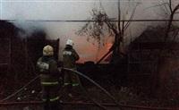 В Пролетарском районе сгорел дом, Фото: 10