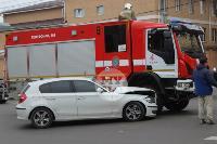 В Туле пожарная машина столкнулась с BMW, Фото: 10