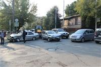 ДТП на перекрестке улиц Свободы и Пушкинской. 23 августа, Фото: 2