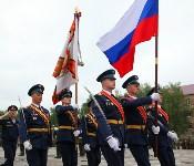 Дмитрий Глушенков простился со знаменем дивизии, Фото: 39