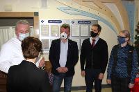 Депутаты Тульской облдумы подарили пациентам областной детской больницы новогодние подарки, Фото: 7