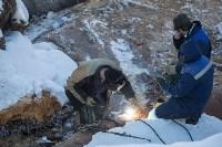 Новая коммунальная авария в Пролетарском округе, Фото: 48