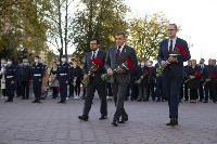 В Туле открыли памятник экипажу танка Т-34, Фото: 25