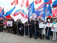 В Туле проходит митинг в поддержку Крыма, Фото: 6