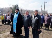 Храм в селе Ефремовского района обрел купол и крест, Фото: 21