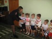 Сотрудники ГИБДД устроили праздник в тульском детском саду, Фото: 3