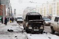 """Грузовой """"Мерседес"""" сгорел на Советской, Фото: 1"""