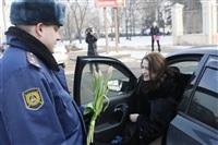 Полицейские поздравили автоледи с 8 Марта, Фото: 18