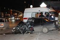На ул. Металлургов в Туле лоб в лоб столкнулись две Daewoo, Фото: 10