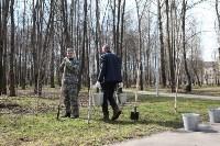 Посадка деревьев в Комсомольском парке, Фото: 44