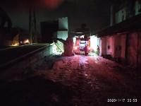 В Ясногорске загорелся склад для хранения зерна, Фото: 8