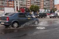 Возле роддома в центре Тулы забил фонтан, Фото: 5