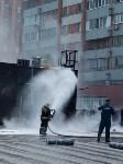 Загорелся недостроенный ТЦ на Красноармейском проспекте, Фото: 56