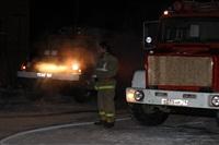 Пожар на складе ОАО «Тулабумпром». 30 января 2014, Фото: 16