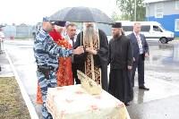 Сотрудники ОМОН поклонились мощам святого великомученика Георгия Победоносца, Фото: 7
